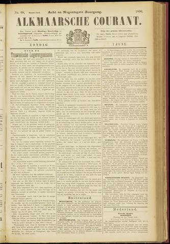 Alkmaarsche Courant 1896-06-07