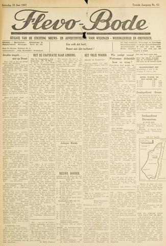 Flevo-bode: nieuwsblad voor Wieringen-Wieringermeer 1947-06-28