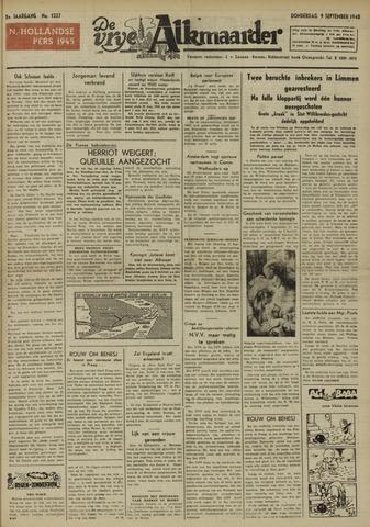 De Vrije Alkmaarder 1948-09-09