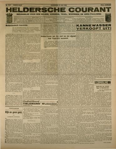 Heldersche Courant 1932-07-21