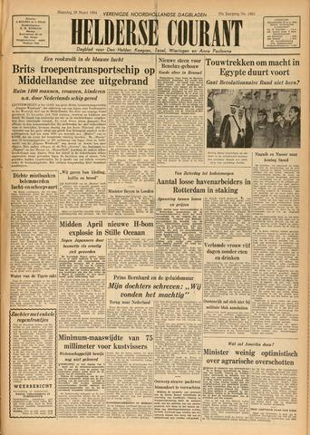 Heldersche Courant 1954-03-29