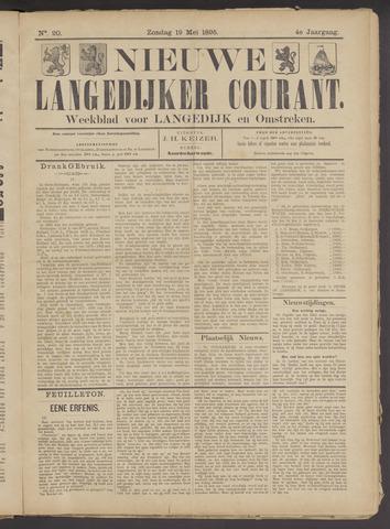 Nieuwe Langedijker Courant 1895-05-19