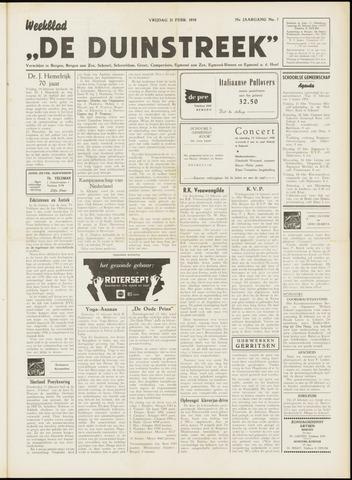 De Duinstreek 1958-02-21