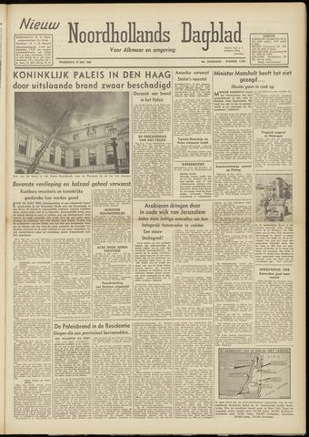 Nieuw Noordhollandsch Dagblad : voor Alkmaar en omgeving 1948-05-19