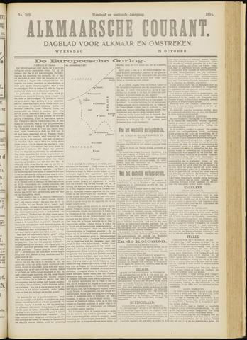 Alkmaarsche Courant 1914-10-21