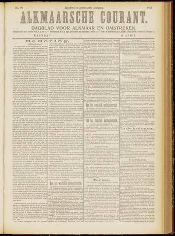 Alkmaarsche Courant 1915-04-19