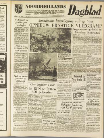 Noordhollands Dagblad : dagblad voor Alkmaar en omgeving 1960-12-19