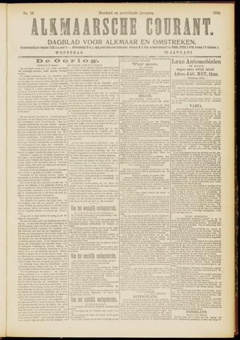 Alkmaarsche Courant 1915-01-20