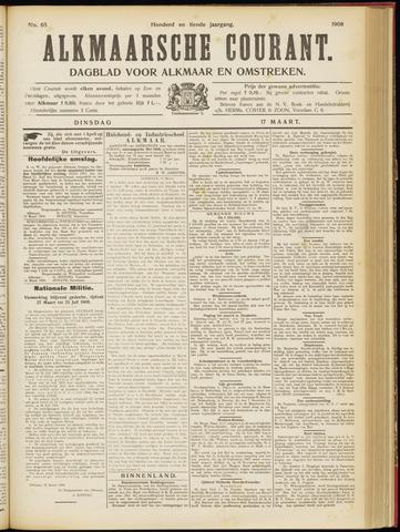 Alkmaarsche Courant 1908-03-17