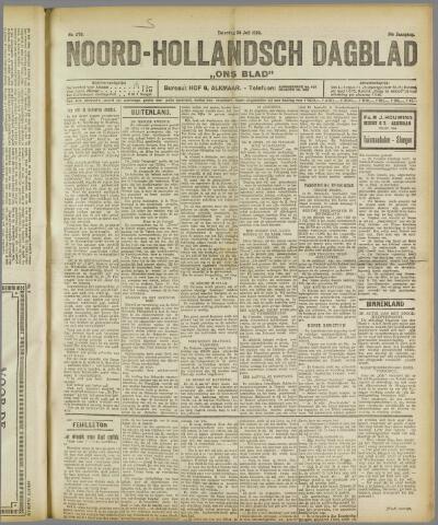 Ons Blad : katholiek nieuwsblad voor N-H 1922-07-29