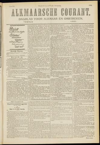 Alkmaarsche Courant 1914-05-08