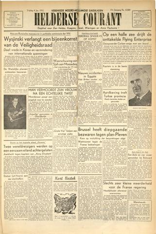 Heldersche Courant 1952-01-04