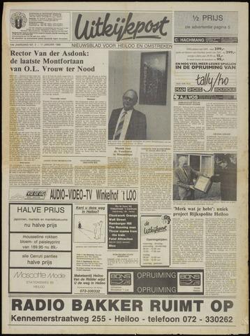Uitkijkpost : nieuwsblad voor Heiloo e.o. 1989-01-11