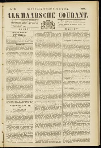 Alkmaarsche Courant 1889-03-22