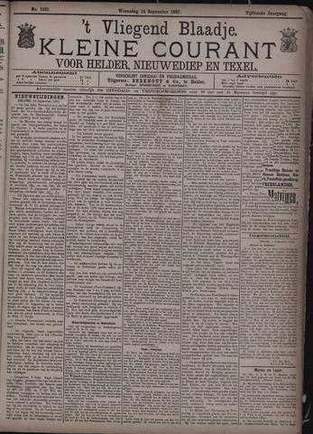 Vliegend blaadje : nieuws- en advertentiebode voor Den Helder 1887-09-14