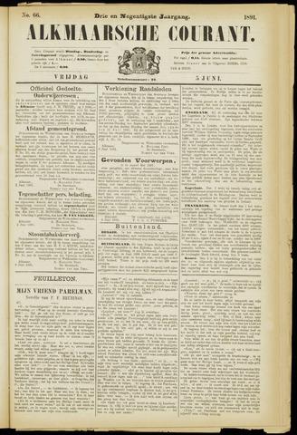 Alkmaarsche Courant 1891-06-05