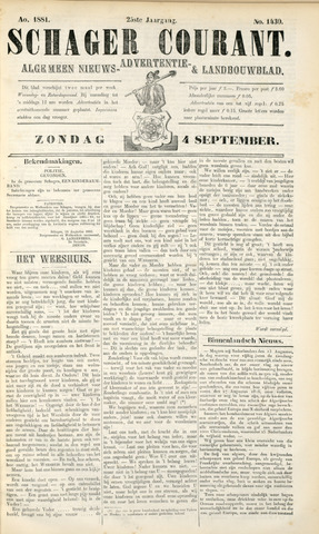 Schager Courant 1881-09-04