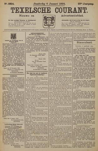 Texelsche Courant 1910-01-06