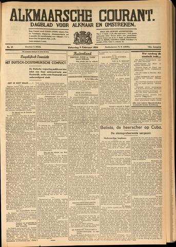 Alkmaarsche Courant 1934-02-03