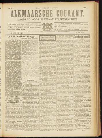 Alkmaarsche Courant 1917-04-12