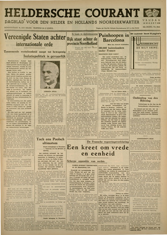 Heldersche Courant 1938-03-18