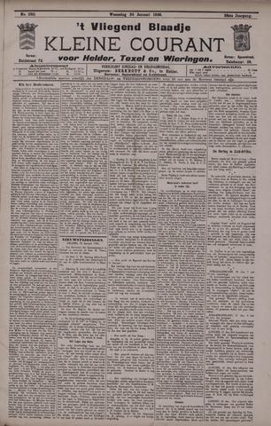 Vliegend blaadje : nieuws- en advertentiebode voor Den Helder 1900-01-24