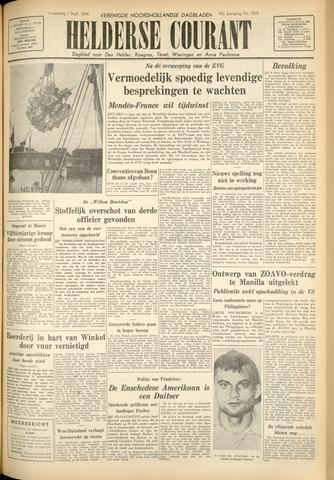 Heldersche Courant 1954-09-01