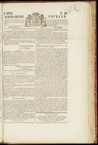 Alkmaarsche Courant 1852-07-12