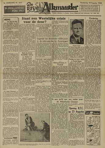 De Vrije Alkmaarder 1949-08-18