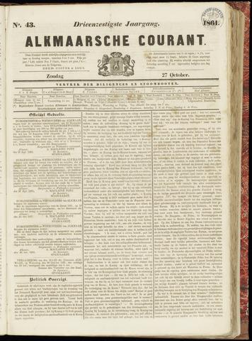 Alkmaarsche Courant 1861-10-27