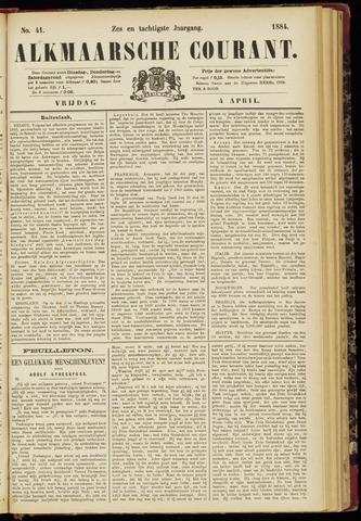 Alkmaarsche Courant 1884-04-04