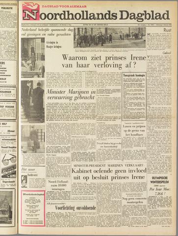 Noordhollands Dagblad : dagblad voor Alkmaar en omgeving 1964-02-05