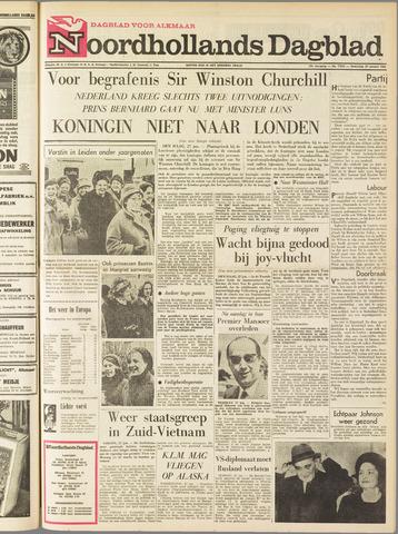 Noordhollands Dagblad : dagblad voor Alkmaar en omgeving 1965-01-27