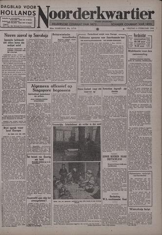 Dagblad voor Hollands Noorderkwartier 1942-02-06
