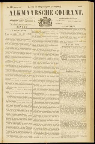 Alkmaarsche Courant 1895-09-15