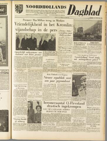 Noordhollands Dagblad : dagblad voor Alkmaar en omgeving 1959-02-24
