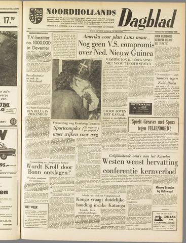 Noordhollands Dagblad : dagblad voor Alkmaar en omgeving 1961-11-14