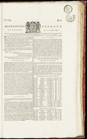 Alkmaarsche Courant 1834-02-24