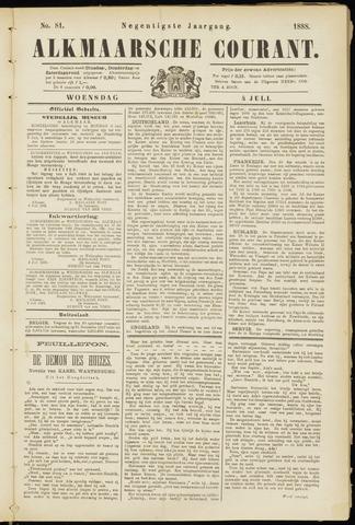 Alkmaarsche Courant 1888-07-04