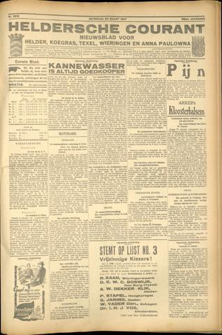 Heldersche Courant 1927-03-25