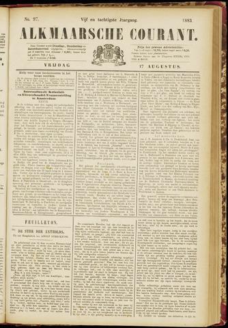 Alkmaarsche Courant 1883-08-17