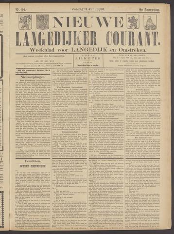 Nieuwe Langedijker Courant 1899-06-11