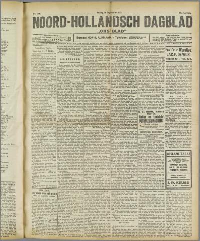 Ons Blad : katholiek nieuwsblad voor N-H 1922-09-29