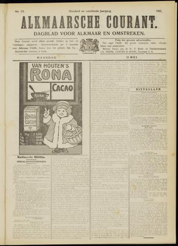Alkmaarsche Courant 1912-05-13