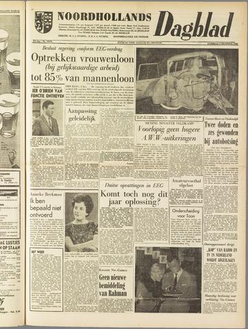 Noordhollands Dagblad : dagblad voor Alkmaar en omgeving 1961-12-02