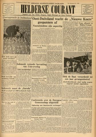 Heldersche Courant 1954-03-25