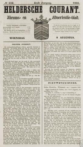 Heldersche Courant 1866-08-08