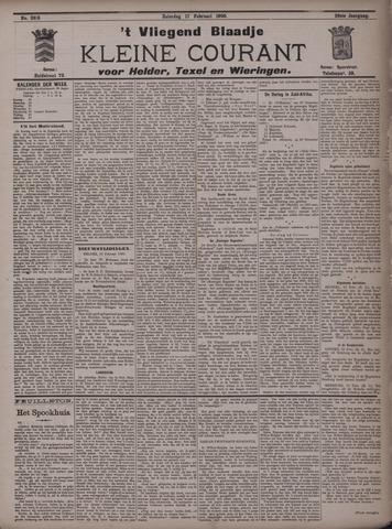 Vliegend blaadje : nieuws- en advertentiebode voor Den Helder 1900-02-17