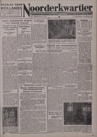 Dagblad voor Hollands Noorderkwartier 1942-01-28