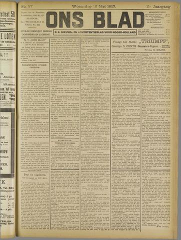 Ons Blad : katholiek nieuwsblad voor N-H 1917-05-16